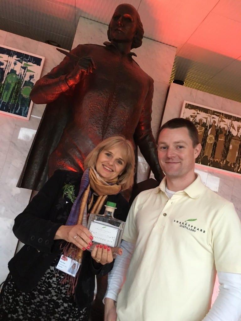 Simon and Dr Diana Owen, CEO
