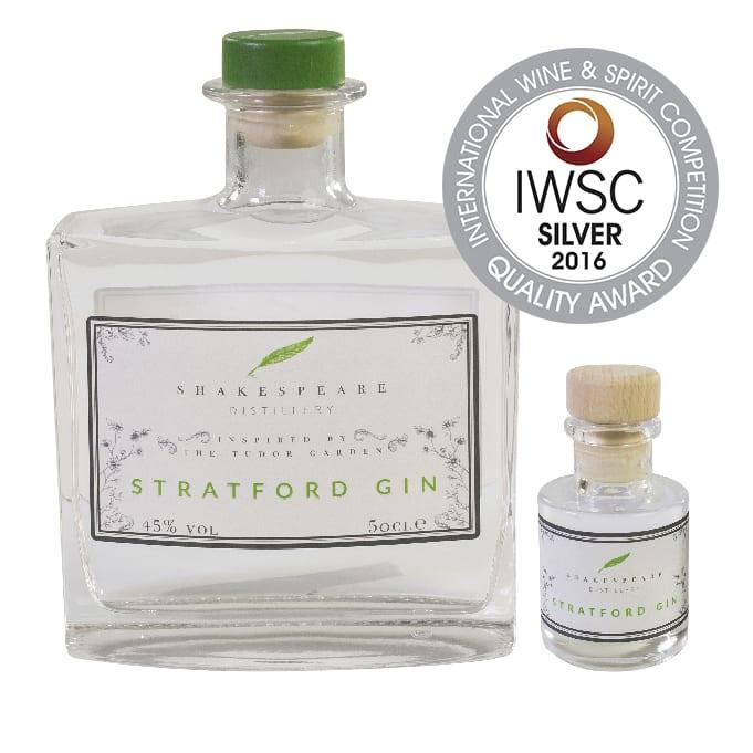 Stratford Gin - IWSC Silver 2016