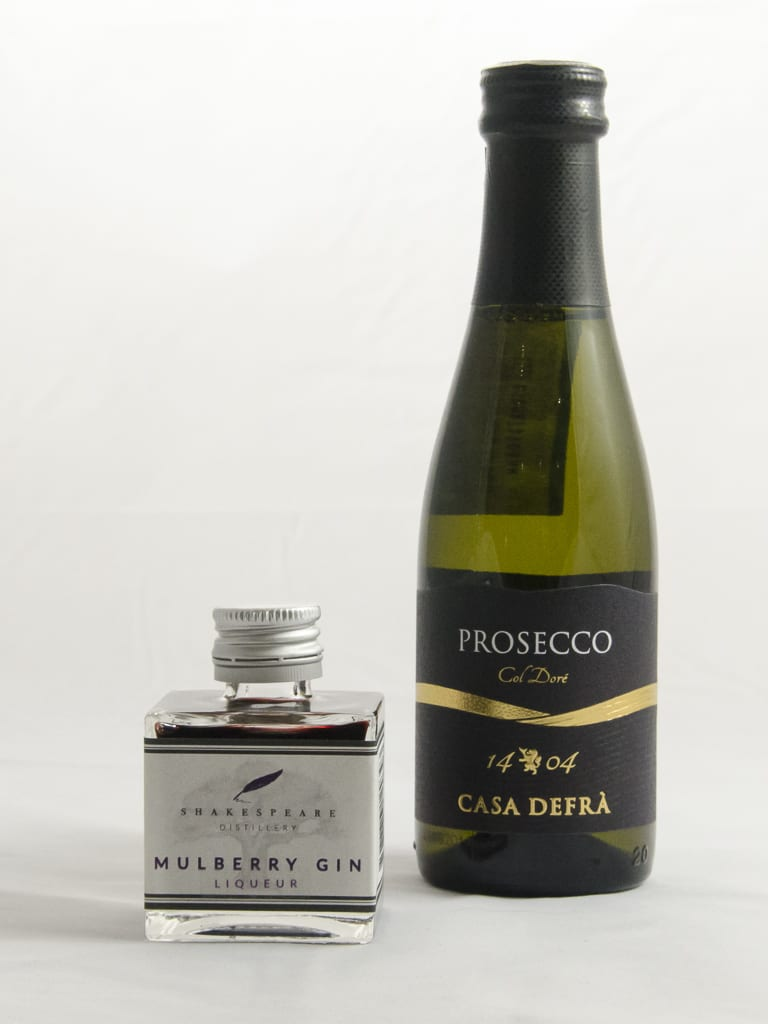 Mulberry Gin & Prosecco Gift Set | Shakespeare Distillery