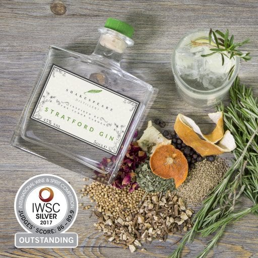 Silver Outstanding 2017 for Stratford Gin