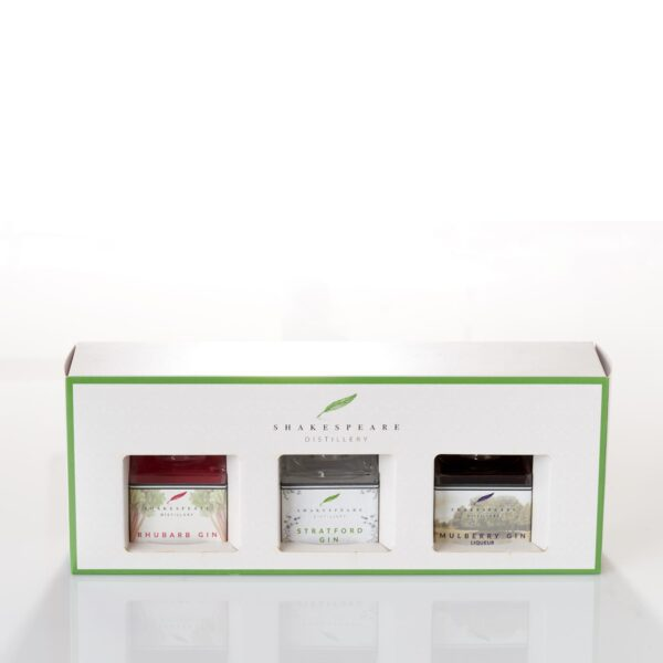 3 mini gin gift set