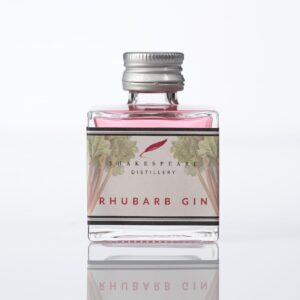 Rhubarb Gin Miniature