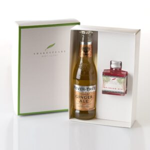 Rhubarb Gin & Ginger Ale Gift Set