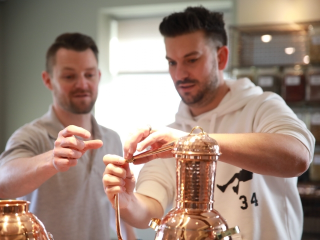 Ready, steady, go! - Shakespeare Distillery Gin School