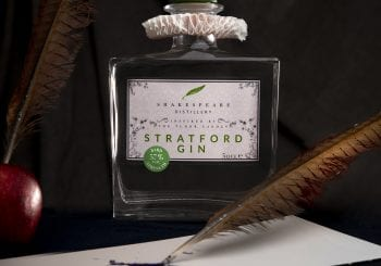 Bard Strength Stratford Gin launched to celebrate Shakespeare's Birthday