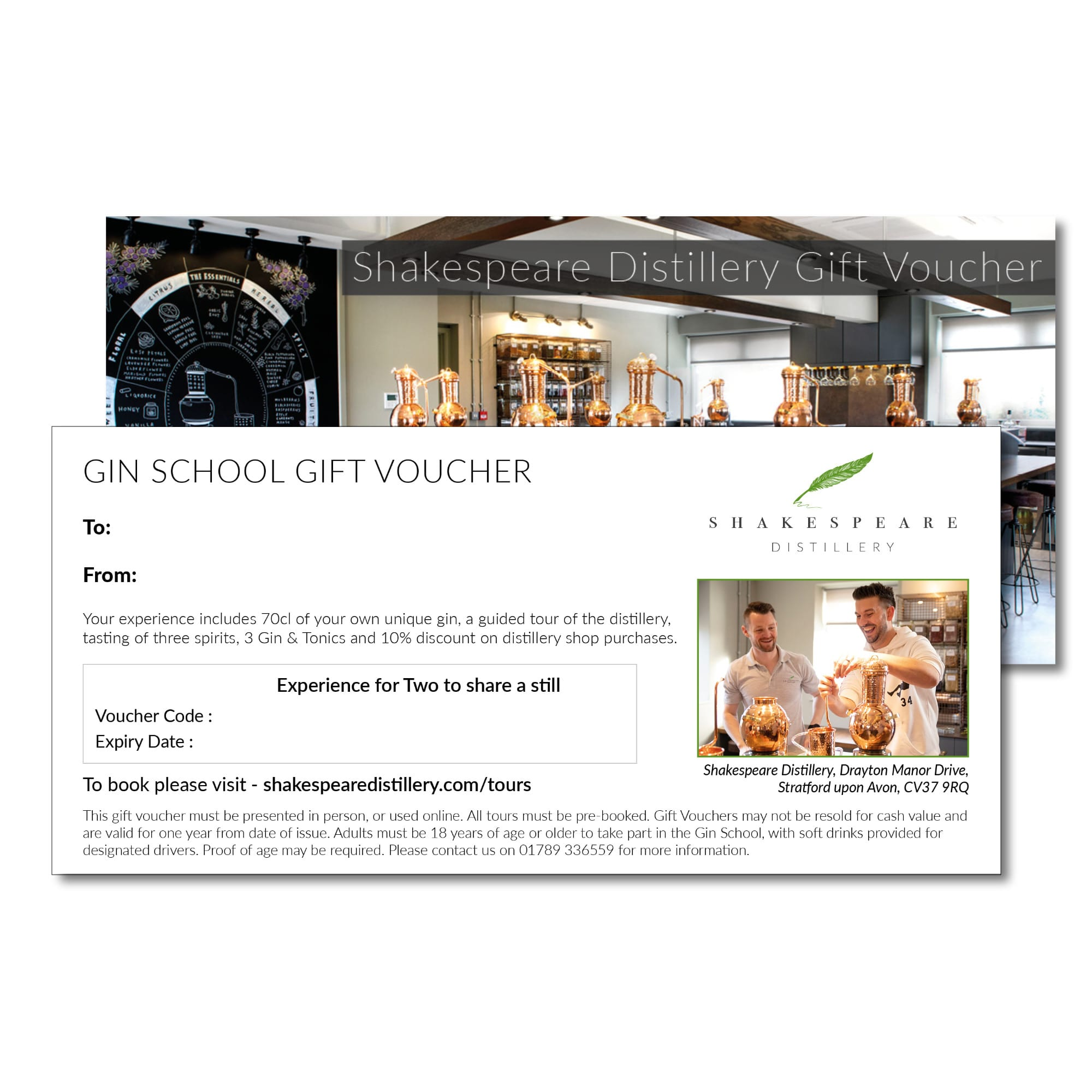 Gin School Gift Voucher