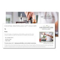 Cocktail Masterclass Gift Voucher