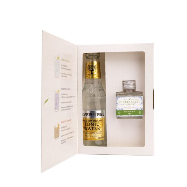 Stratford Dry Gin and Tonic Gift Set