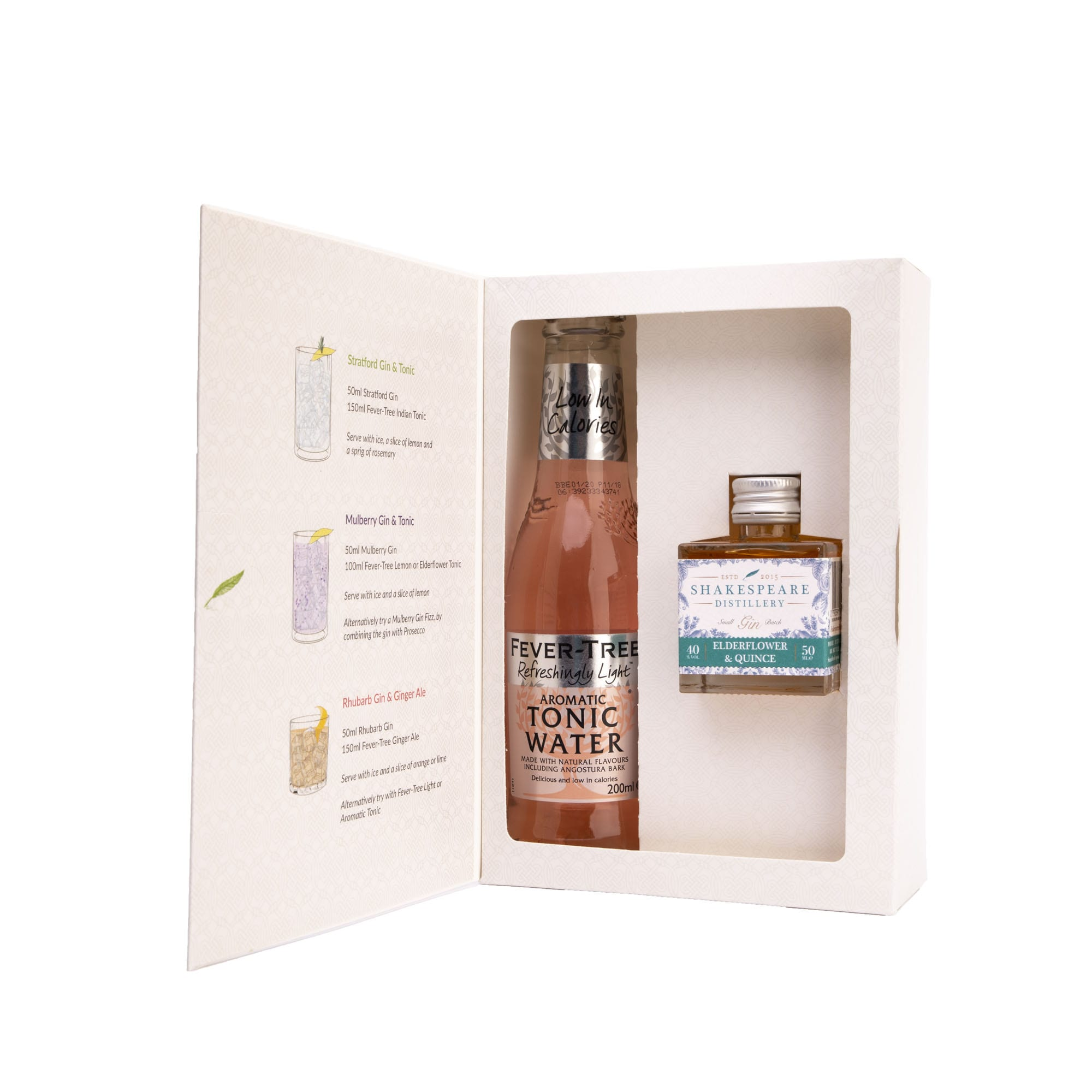 Elderflower and Quince and Tonic Gift Set