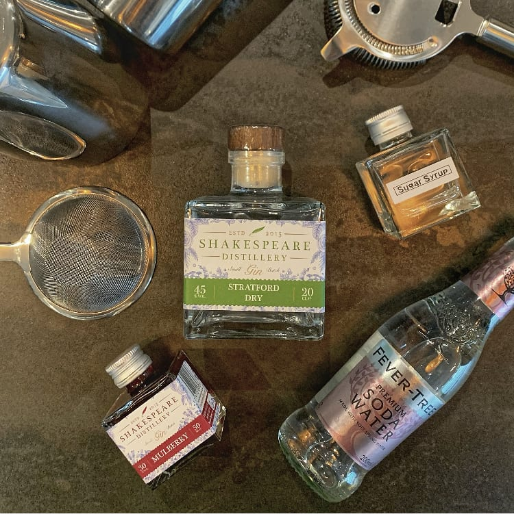 Virtual Cocktail Masterclass Kit with Stratford Dry Gin