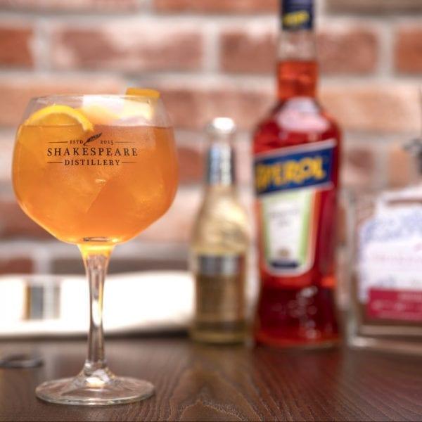 Rhubarb Gin Spritz