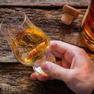 Rum tasting neat