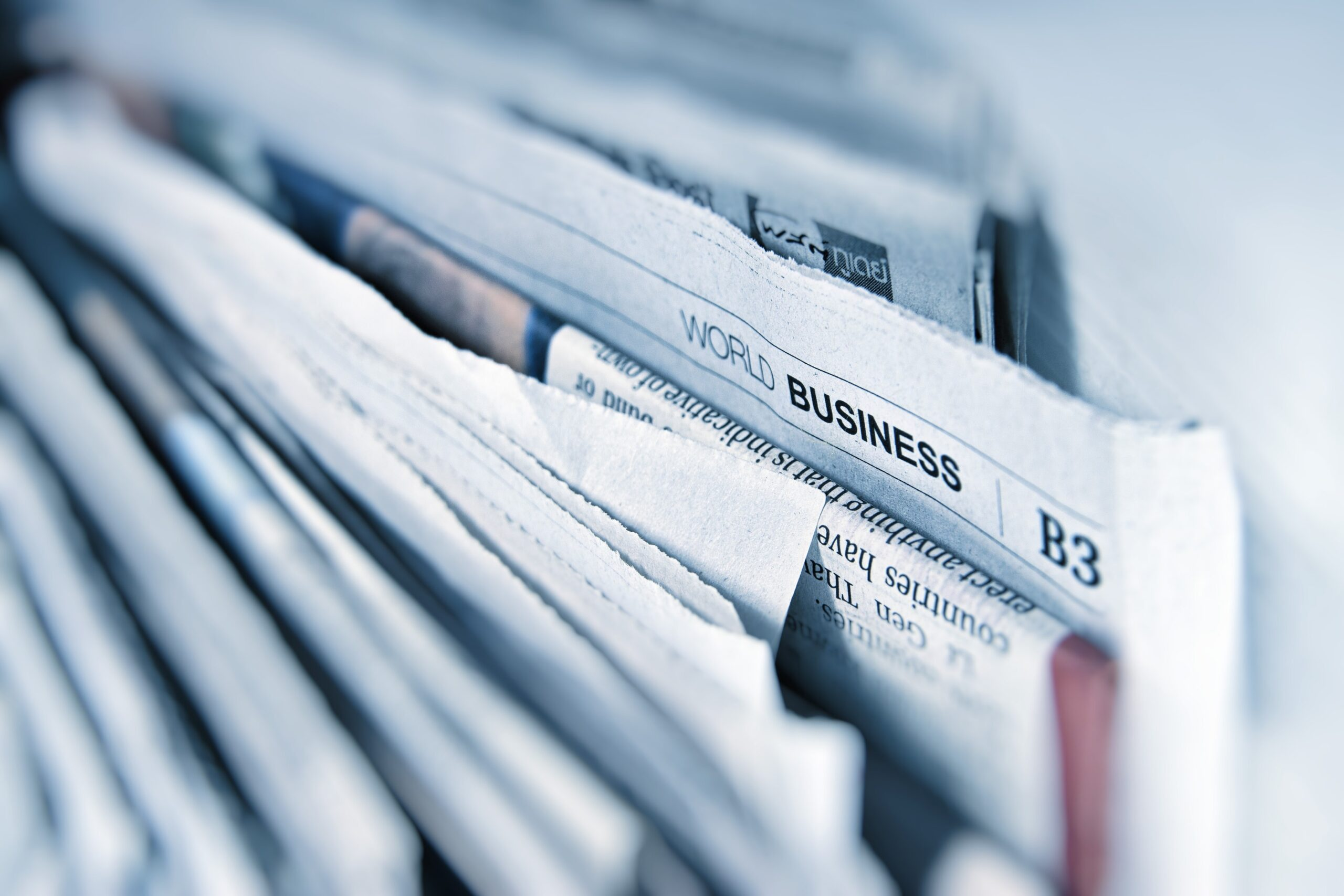 a photo of various newspapers
